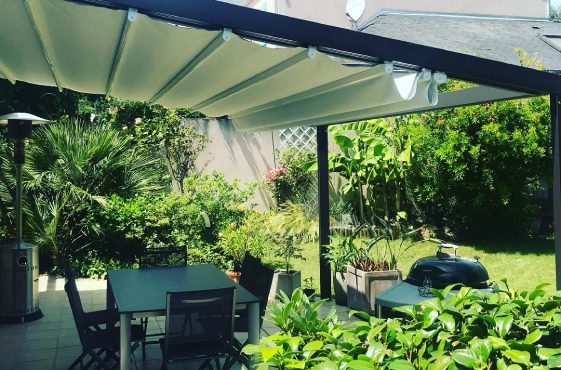 pergola toile retractable artisole
