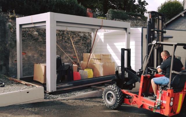 Installation salon habitat