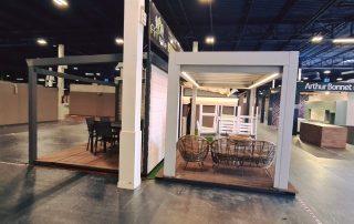 Installation salon habitat stand 2
